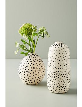 Taiki Dotted Vase by Anthropologie