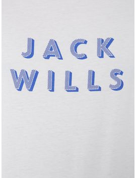Short Sleeved Wentworth Graphic Tshirt by Jack Wills