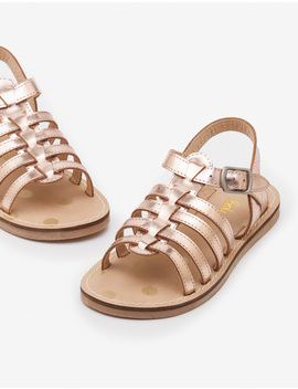 Leather Gladiator Sandals by Boden
