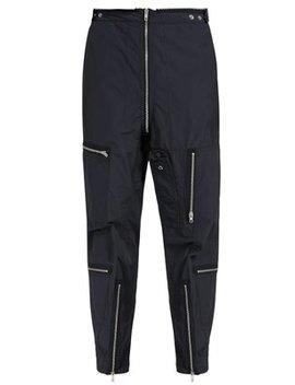 Biker Zip Pocket Trousers by Maison Margiela
