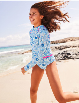 Long Sleeved Rash Guard by Boden