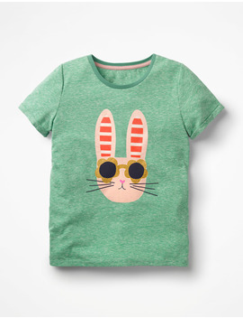 Fun Animal Printed T Shirt by Boden