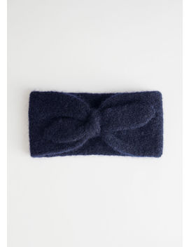 Wool Blend Knit Headband by & Other Stories