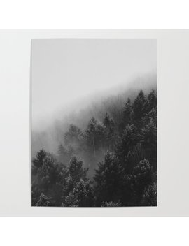 Misty Forest Ii Poster by