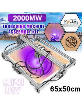 65x50cm 2000mw Diy Desktop Laser Cutting Engraving Machine Printer Engraver Mark by Meco