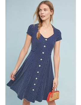 Marilyn Button Front Dress by Maeve