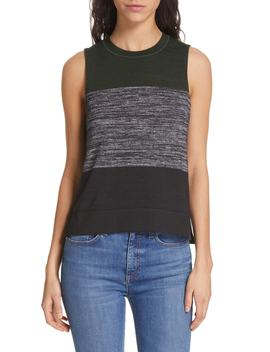 Bowery Colorblock Muscle Tank by Rag & Bone/Jean
