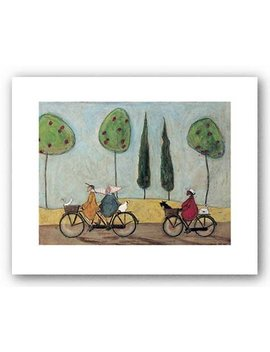 A Nice Day For It Art Print Art Poster Print By Sam Toft, 20x16 by Poster Discount