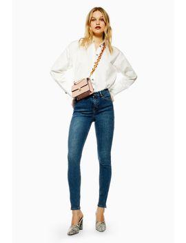 Dirty Zip Hem Jamie Jeans by Topshop