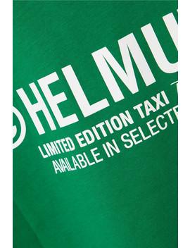 T Shirt En Jersey De Coton Imprimé Tokyo Taxi by Helmut Lang
