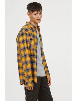 Skjorte I Bomuldsflonel by H&M