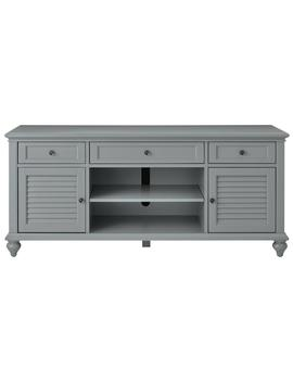 Hamilton 26 In. Grey Tv Stand by Home Decorators Collection