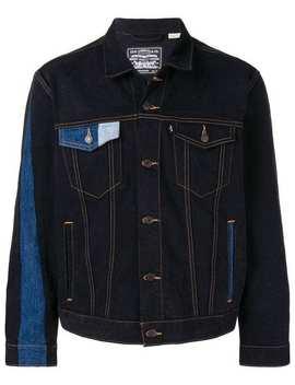 Gosha Rubchinsky X Levi's Contrasting Panels Denim Jacket by Gosha Rubchinskiy
