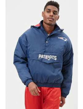 Nfl Hooded Patriots Pullover Jacket by Forever 21