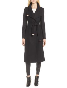 Ted Baker Londer Midi Wool Wrap Coat by Ted Baker London