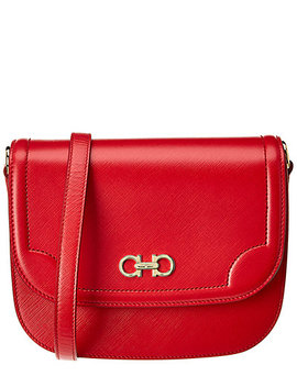 Salvatore Ferragamo Greta Leather Crossbody by Salvatore Ferragamo