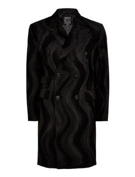 Faux Ponyhair Overcoat by Topman