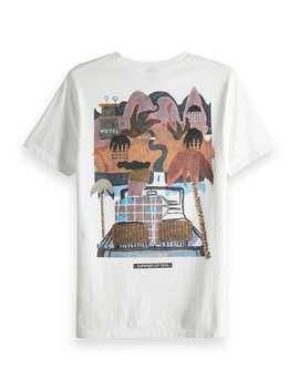 Raffia Town T Shirt by Scotch&Soda