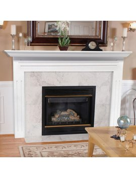 Pearl Mantels Newport Wood Fireplace Mantel Surround by Pearl Mantels