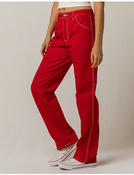 Dickies Red Carpenter Pants by Dickies