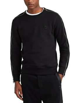 Skull Patch Cotton Fleece Sweatshirt by Alexander Mc Queen
