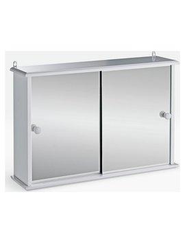 Argos Home Sliding Door Bathroom Cabinet   White by Argos