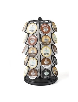 K Cup Carousel   Holds 35 K Cups In Black by Charmed