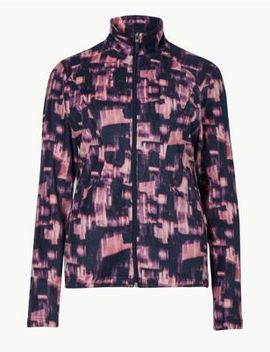 Printed Fleece Jacket by Marks & Spencer