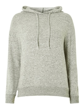 Petite Grey Brushed Hoodie by Dorothy Perkins