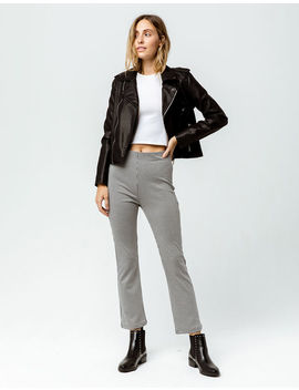 Amuse Society Peggy Womens Crop Trouser Pants by Amuse Society