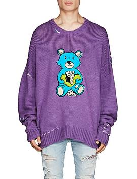Teddy Bear Oversized Sweater by Amiri
