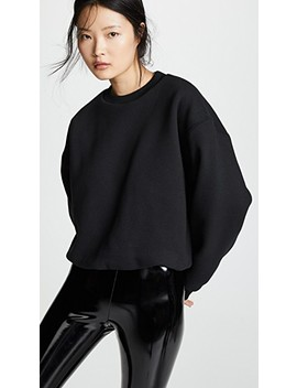 Fleece Crew Neck Sweatshirt by Alexanderwang.T