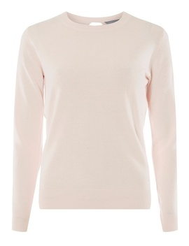 Petite Pink 'Candyfloss' Cashmilon Jumper by Dorothy Perkins