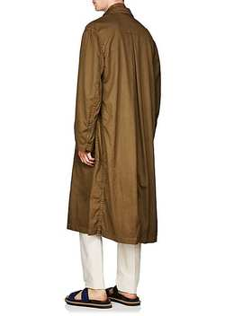 Piqué Cotton Trench Coat by Dries Van Noten