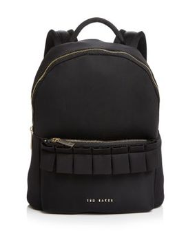 Ruffled Backpack by Ted Baker