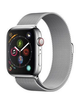 Apple Watch Series 4 Gps + Cellular, 44mm Stainless Steel Case With Milanese Loop by Apple