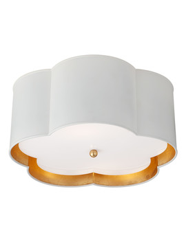 Bryce Medium Flush Mount by Kate Spade