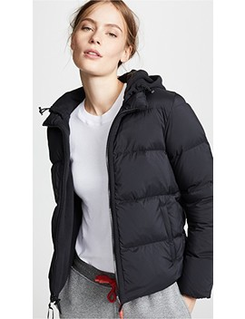 Fleece Lined Puffer Jacket by James Perse