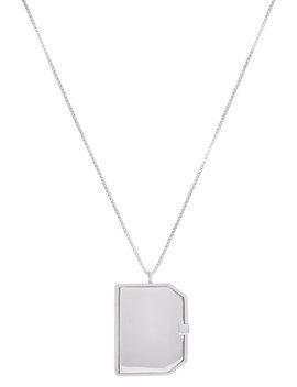 Halskette Mirror Mit Anhänger by Raf Simons