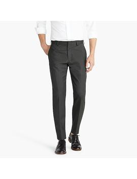 Ludlow Slim Fit Pant In Microtexture Stretch Four Season Wool by J.Crew