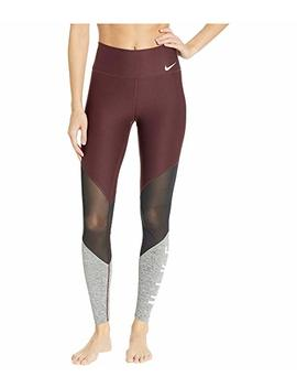 Power Mesh Wrap Graphic Gym Tights by Nike