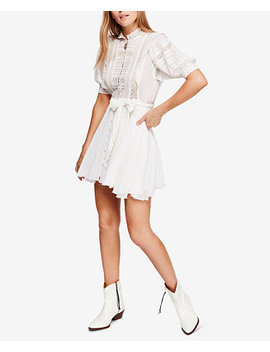 Sydney Lace Pintucked Dress by Free People
