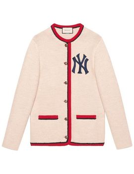 Cardigan With New York Yankees ™ Patch by Gucci