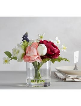 Faux Easter Composed Flower Arrangement by Pottery Barn