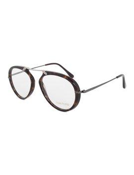 Havana Aviator Eyeglasses by Tom Ford