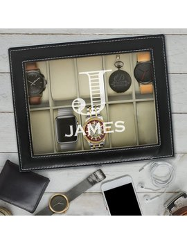Valentine's Gift Personalized, Husband Gift, Valentine's Day Gift For Him, Gifts For Boyfriend, Valentine's Day Gifts For Men Watch Box Case by Etsy