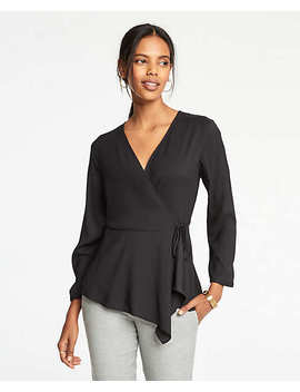 Scarf Wrap Top by Ann Taylor