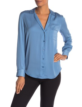 Keira Long Sleeve Button Shirt by Equipment