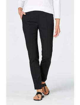 Essential Cotton Stretch Ankle Pants by J.Jill
