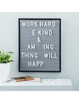 Vaughn Felt Letter Board by West Elm